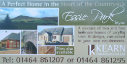 Essie Park housing development site board
